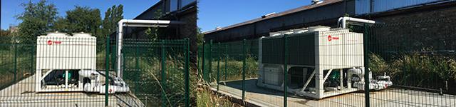 Installation de climatisation, ventilation et chauffage en essonne © Pack555 site Web